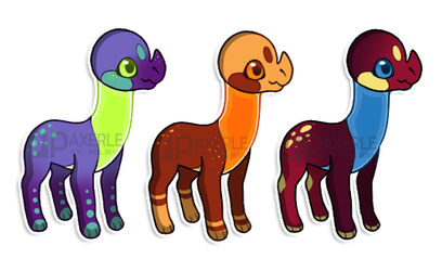 New Species Adopts OTA [open] by Paxerle