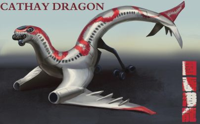 cathay dragon by Trunchbull