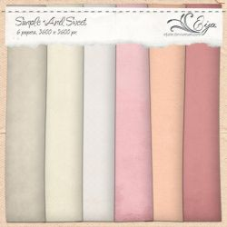 Simple and Sweet paper pack by Eijaite