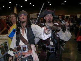 Captain Jack Sparrow and other by PyromaniacKai
