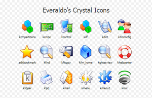 Crystal Icons by srg311