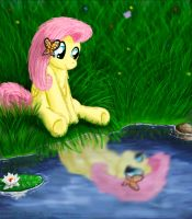 Fluttershy by Dracodile