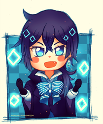 Commission | Vanitas Chibi by AngelLinx3