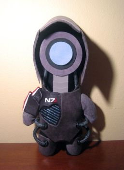 mass effect legion plush, chibi style! by viciouspretty