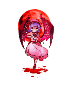 Remilia Scarlet sticker by zacaria-world