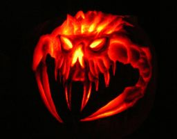 halloween pumkin carving 2006 by chrisgoddard85