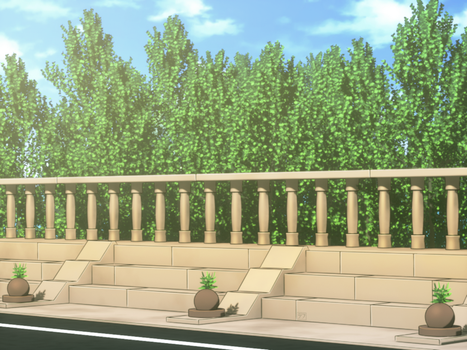 Anime style background by Deffiar
