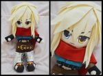 Elsword OC Plushie by renealexa-plushie
