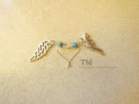 I Need You - SPN Inspired Earrings by thingamajik