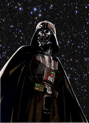 Darth Vader by Nick-of-the-Dead