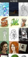 Daily doodles 2013-4 by Lysandr-a