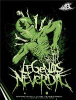 .LEGENDS NEVER DIE. by XEmptyHeartsX