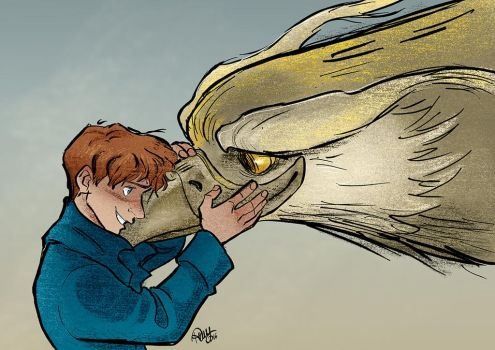 Newt and Frank by Renny08