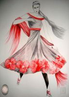 Red A Shade of Grey by MODalineARTisTree