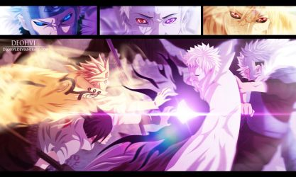 Naruto 641 - Coloring by DEOHVI