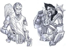 LoL Sketches 1 by ParSujera