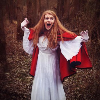 Little Red Riding Hood by antoanette
