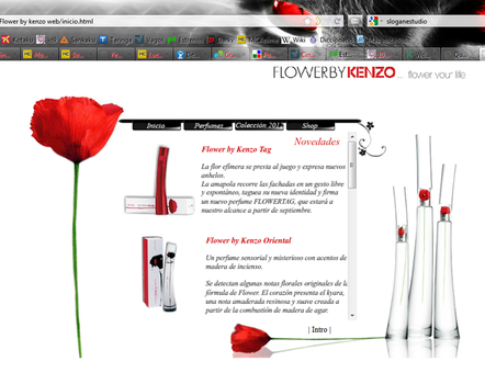Flower by Kenzo Web Perfumes by PatriciaCG