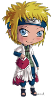 Point Commission - Chibi Minato by virro-d