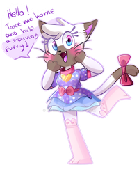 cute Cat girl Adopt (AUCTION) by Stariaat