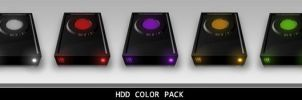 HDD Color Pack PNG by madFusion15