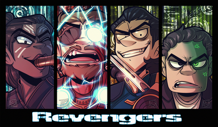 The Revengers by Ashesfordayz