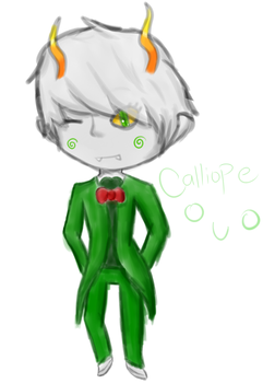 Hey look it's a Calliope by Anime-Gamer-Girl