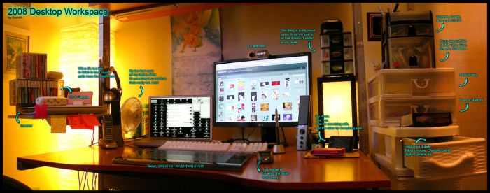2008 Desktop Workspace by gucci84
