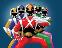 Action Sentai by DynamicSavior