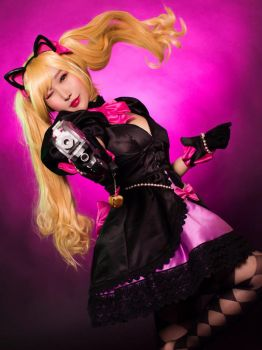 Black Cat Dva Cosplay from Overwatch by RinnieRiot
