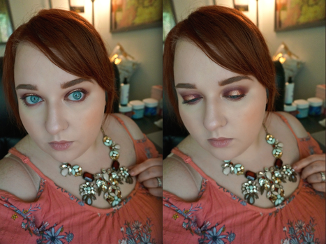 Rose Gold Halo Eye by AriBerry235