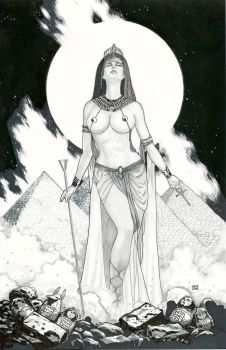 Nephthys: Goddess of the Dead by Ace-Continuado