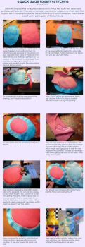 A Quick Guide to Satin Stitching by GrowlyLobita