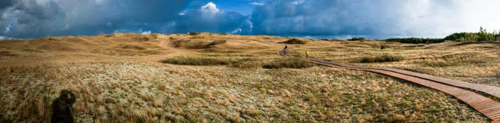 At the bottom of the Dead Dunes by simsunas