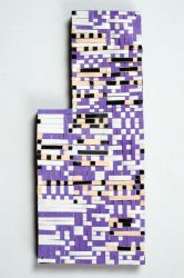 Pokemon Paper Quilling Art MissingNo. by wholedwarf