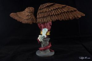 [Garage kit painting #09] Griffin bust - 006 by DasArt