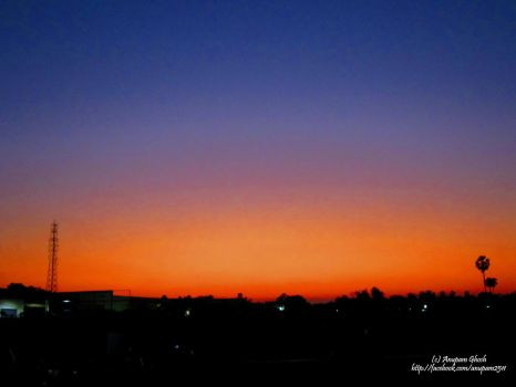 Colourful Sunset.....!! by Anupam2511