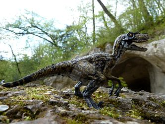 Utahraptor, Walking with Dinosaurs by Polihierax