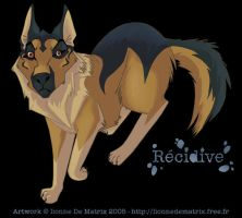 German shepherd dog by lionne-de-matrix