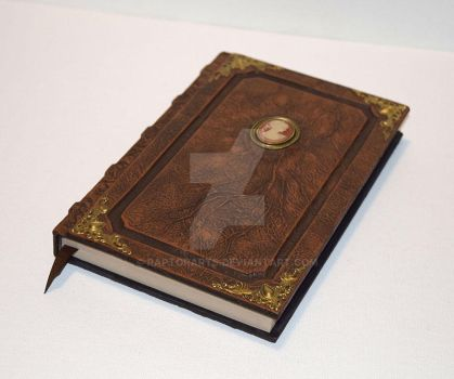 Custom Commission Book Tome Grimoire by RaptorArts