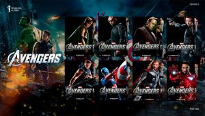 The Avengers (2012) Folder Icon #2 by sebasmgsse