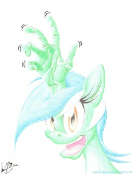 Let's Give Lyra A Hand! by myLOONEYpony