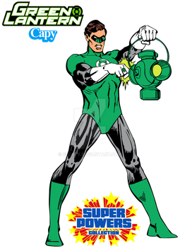 Super Powers - Green Lantern by ElCapy