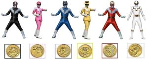 Mighty Morphin Ninja Rangers Ver.2 by Greencosmos80