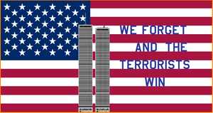 we forget and the terrorists by bagera3005