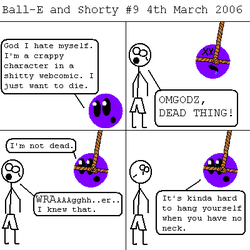 Ball-E and Shorty 9 by mysterious-w