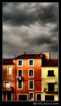 Marmalade houses... by Michel-Lag-Chavarria