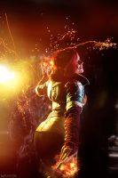 The Witcher: Wild Hunt - Triss - More fire! by MilliganVick