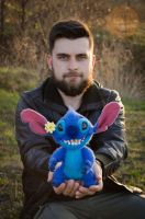 Stitch needlefelting sculpture by Lyntoys