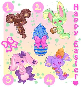 [CLOSED] Special Happy Easter :3 by Yoshimiko-Adopts